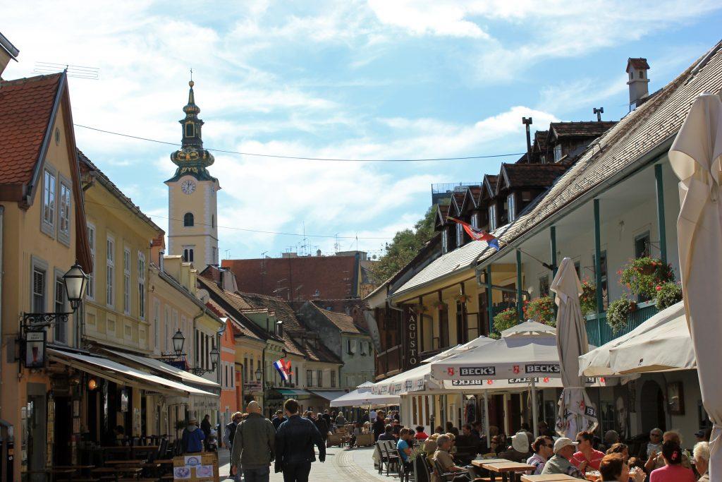 Tkalciceva utca, Zágráb