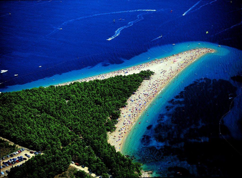 Zlatni Rat strand, Brac-sziget